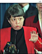 Mary Jo White, US Attorney for New York