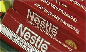 Nestle chocolate bars