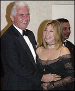 Barbra Streisand and husband James Brolin