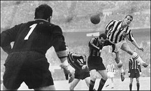 John Charles in action for Juventus