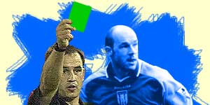 BBC Sport Online looks at a new proposal for referees to hand out green cards for good play