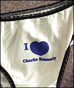 Charles Kennedy knickers