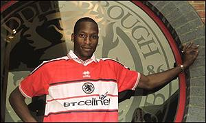 Middlesbrough's Ugo Ehiogu is called up