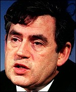 Chancellor Gordon Brown: