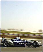 Montoya tests the new Williams-BMW FW23, copyright LAT Photographic