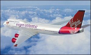 virgin aircraft