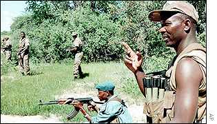 Namibian soldiers