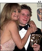 Goldie Hawn and Jamie Bell