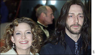 Kate Hudson with Chris Robinson