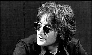John Lennon, whose piano is being auctioned in London in March