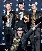 U2 at this year's Grammy Awards