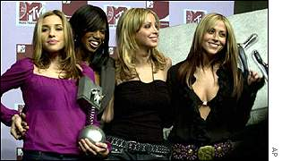 All Saints at the 2000 MTV Europe Awards