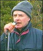 Brian Keenan addressed a republican commemoration