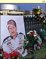 Tributes to dale Earnhardt