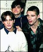 Three members of Take That