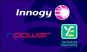 logos from the Innogy website