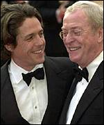 Hugh Grant and Sir Michael Caine