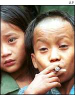 Karen guerillas Johnny and Luther Htoo