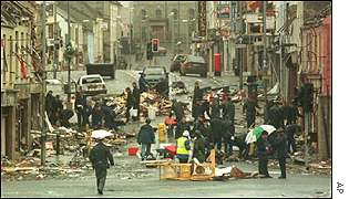 Omagh after the bomb
