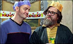 Ricky Tomlinson in TV's Royle Family