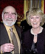 Camilla Parker Bowles and Ted Kelsey (Reg Grundy)