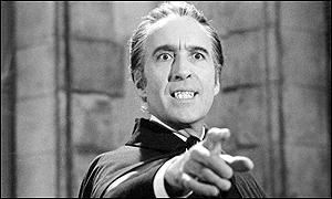 Christopher Lee as Count Dracula in Dracula A.D.1972 (1971)
