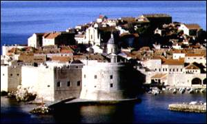 The Croatian city of Dubrovnik
