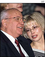 Mikhail and Irina Gorbachev 26/2/01