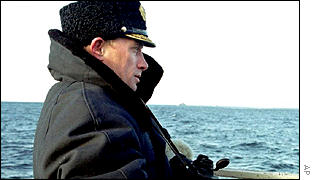 President Putin looks out to sea