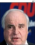 Helmut Kohl at a conference of his CDU Party