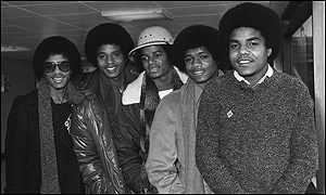 The Jackson 5 at Heathrow in 1979