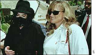 Michael Jackson with Debbie Rowe