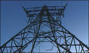 Electricity pylon BBC
