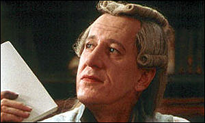 Geoffrey Rush in Quills