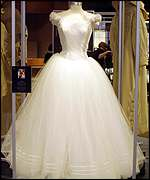 One of the dresses worn by Julia Roberts in The Runaway Bride