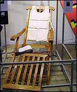 Deckchair seen in the blockbuster Titanic