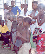 Refugees in Nsanje district
