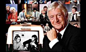 Talk show host Michael Parkinson