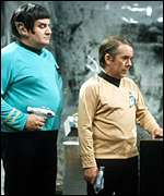 The Two Ronnies in a Star Trek spoof