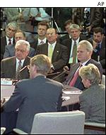 Dayton peace talks in 1995