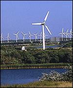 Wind turbines BBC