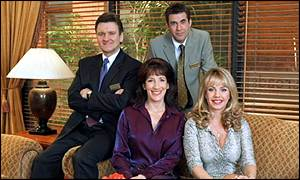 The cast of Crossroads