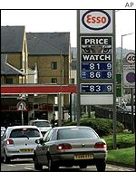 The price of petrol will fall