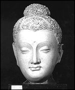 Head of Buddha from Kabul museum