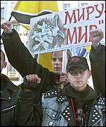 AFP Moscow 'Save Mir' demo