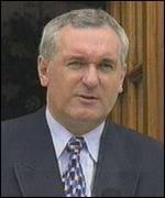 Ahern said interim deal may be all that be achieved
