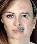 John Cleese and Liz Hurley