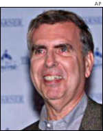 AOL Time Warner chief executive Gerry Levin