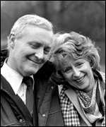Tony and Caroline Benn
