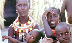 Emolo women in Kenya